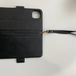 iphone11 手帳型 ケース 手帳 アイフォン11 Qi充電...
