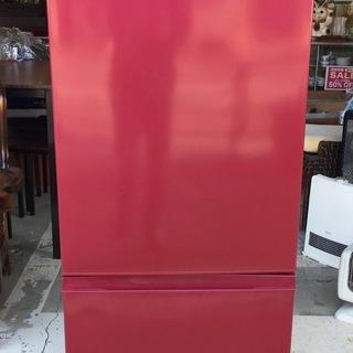 AQUA アクア AQR-BK18G 184L 冷凍冷蔵庫 レッ...
