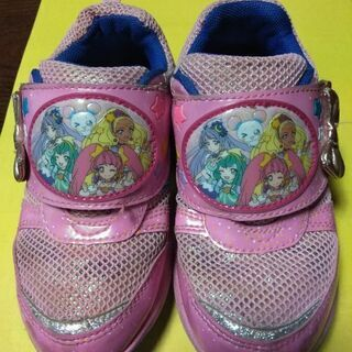 プリキュアの靴です。
