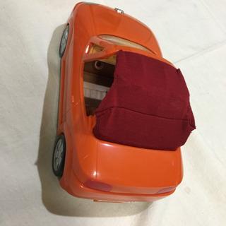 【美品 ほぼ未使用 シルバニアファミリー ふたりでおでかけオープンカー】 - おもちゃ