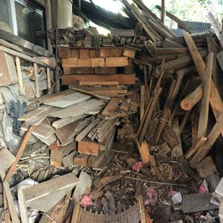 約50cm〜数mの廃材・切って薪にも