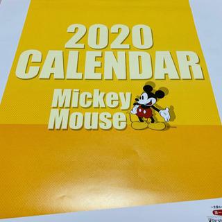 ミッキーマウス  カレンダー  2020年