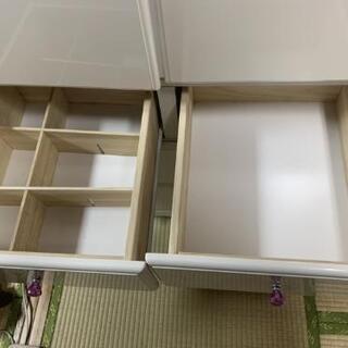 クローゼット、タンス(ホワイト) - 家具