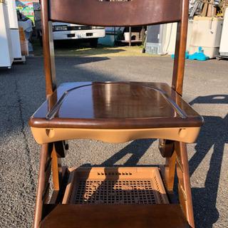 学習椅子、ドレッサー用椅子に 木製椅子です。 - 家具