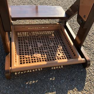 学習椅子、ドレッサー用椅子に 木製椅子です。 - 売ります・あげます