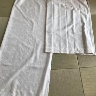 ニトリ 遮光・遮熱カーテン グレー 2枚組×2セット 公式…