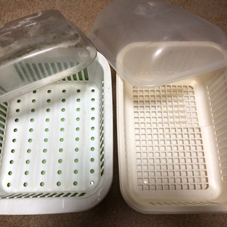 食器乾燥水切りかご2個セット 洗い物 シンク 乾燥ラック 水切り...
