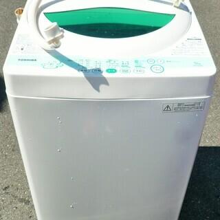 ☆東芝 TOSHIBA AW-505 5.0kg 全自動電気洗濯...