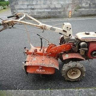 クボタの小型耕運機