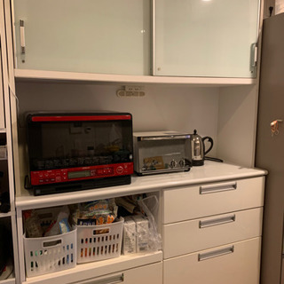 【決まりました】白い食器棚