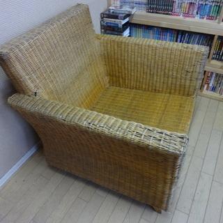◇薄い茶系・南国にあるような椅子◇