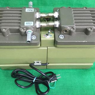 中古 1989年製  ダイアフラム型 ドライ 真空ポンプ 幅36  奥行15.5  高さ23  (cm) DA-120S - 売ります・あげます