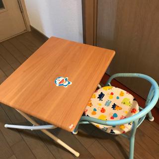 取引中 子供用品 本、いす、折りたたみミニテーブル