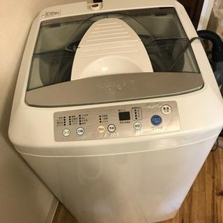 ハイアール 洗濯機 2010年製