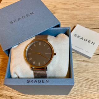 【完美品】SKAGEN 34mm 腕時計 男女可