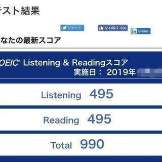 ☆英検対策講座☆TOEIC対策!プライベートレッスンで目標達成!