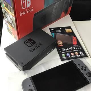 任天堂 switch 本体 新品 開封済み 設置までしております...