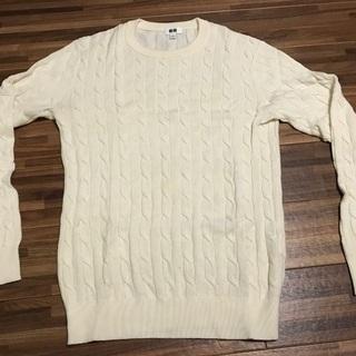 UNIQLO メンズ セーター Sサイズ 白