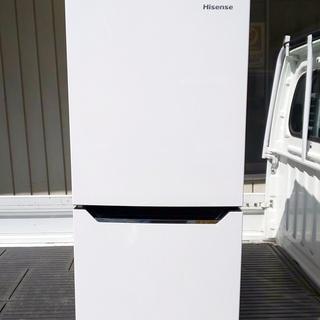 ハイセンス 冷蔵庫 130L  2ドア HR-D1301