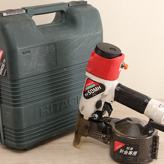 日立工機 常圧 釘打機 ロール釘打機 NV50MH 動作品(D3...
