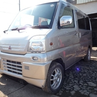 MITSUBISHI  TOWNBOX  4WD  車検取得費用含