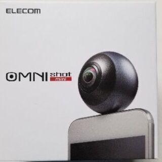 スマートフォン直挿し360度カメラ    ELECOM 「OMN...
