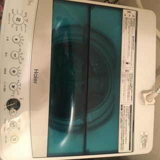 【値下げ】2017年式 洗濯機 4.5kg