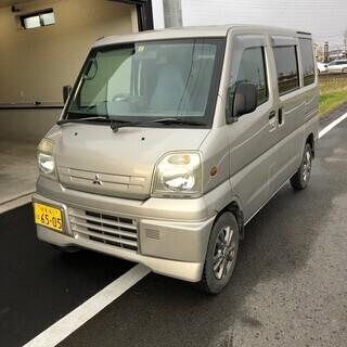 総額6.8万円 4WD!ナビTV!平成12年式 ミツビシ ミニキ...
