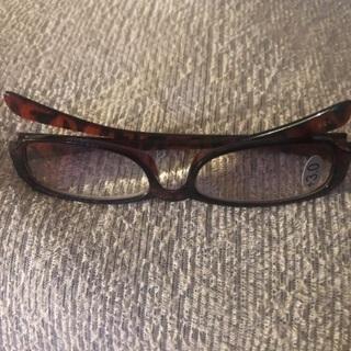 老眼鏡3度