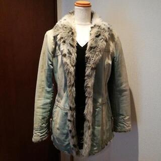 バーバリー40 デニム&キルトのジャケット