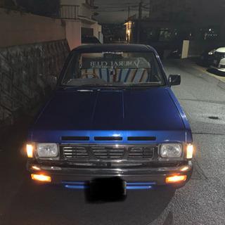 鹿児島市 日産ダットラ D21 車検切れ