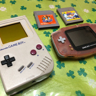 (ジャンク品)GAME BOY&GAME BOY ADVA…