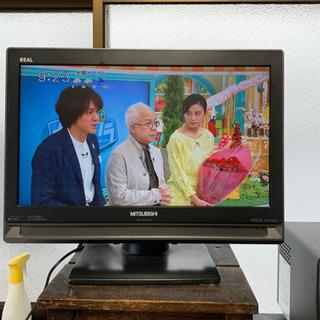 三菱カラー液晶テレビ LCD-19MX35B CS BS 地デジ...