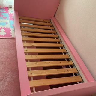 IKEA♡キッズベッド♡子供ベッド♡ピンクベッド♡