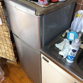 冷蔵庫 あげます - 宜野湾市
