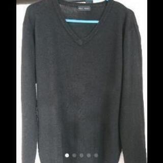 【値下げ】TETE HOMME ブラックニットセーター