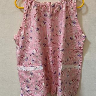 【手作り未使用】幼児向けスモック(100〜120サイズ)