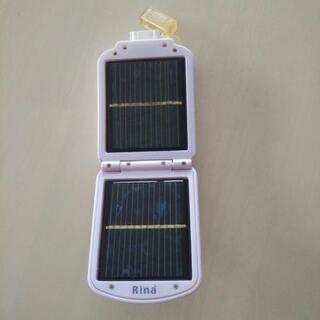 携帯電話充電器 太陽電池 ジャンク