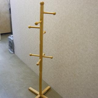 木製 ポールハンガー ナチュラル 札幌 西岡店