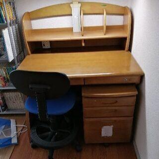 学習机(椅子・サイドテーブル付)佐賀の方限定