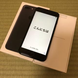 iPhone7plus 128GB SIMフリー ブラック