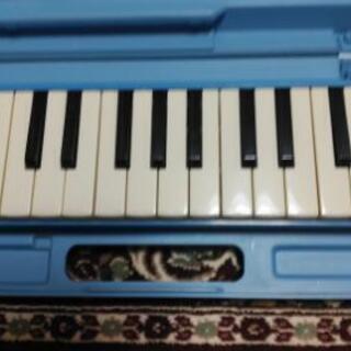 ヤマハ 鍵盤ハーモニカ 青