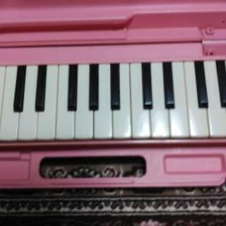 ヤマハ 鍵盤ハーモニカ 赤