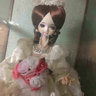 フランス人形 ウェディングドレス