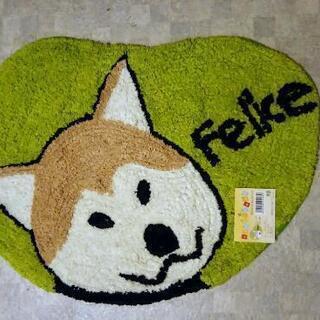 ミニラグマット 犬柄  50×42 1枚500円 (2枚あります)
