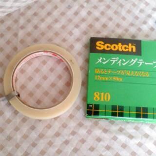新品 Scotch メンディングテープ 12mm×50m 810...