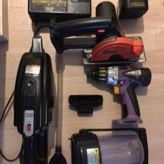 DIYに! Panasonic national 電動工具 セットの画像