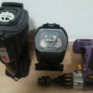 DIYに! Panasonic national 電動工具 セット - 車のパーツ