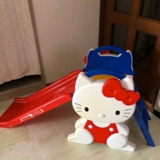 キティの滑り台