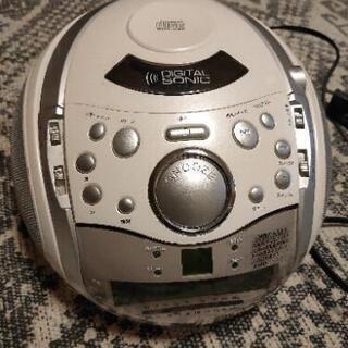 CDプレイヤー ラジオも!